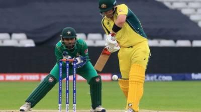 چیمپیئنز ٹرافی : پاکستان اور آسٹریلیا کا وارم اپ میچ بے نتیجہ ختم