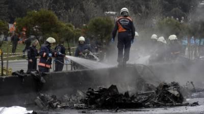 ترکی میں ہیلی کاپٹرگرکرتباہ ، 13فوجی جاں بحق