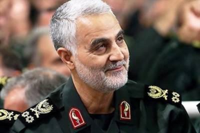 جنرل سلیمانی شام، عراق سرحد پر الحشد ملیشیا ءکے جنگجوﺅں سے ملنے پہنچ گئے