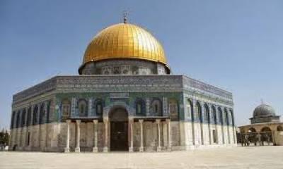 ماہ صیام میں یہودی اشرار کی جانب سے قبلہ اول کی مسلسل بے حرمتی کا سلسلہ جاری