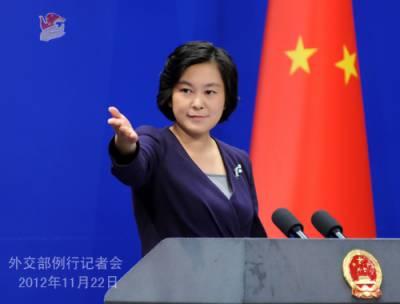 چین کا جنوبی کوریا میں امریکی تھاڈ دفاعی نظام کیلئے چار اضافی موبائل لانچرز کی ترسیل پر گہری تشویش کا اظہار