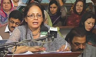 ڈاکٹر عائشہ غوث پاشا کل پنجاب کا آئندہ مالی سال کا بجٹ پیش کریں گی