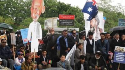 افغان صدر اشرف غنی سے مستعفی ہونے کا مطالبہ