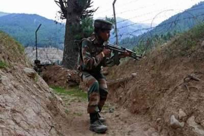 تتہ پانی سیکٹر میں فائرنگ، پاک فوج کی جوابی کارروائی میں 5 بھارتی فوجی ہلاک