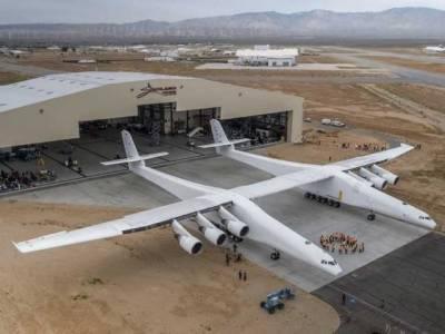دنیا کاسب سے بڑا ہوائی جہاز''اسٹریٹو لانچ'' اُڑان بھرنے کو تیار