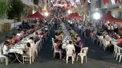 ترکی میں گزشتہ 15 سال سے ایک ہی دسترخوان پر افطاری کرنے والا گاوں