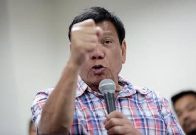 دہشتگردوں سے کسی قسم کے کوئی مذاکرات نہیں ہوں گے: فلپائنی صدر