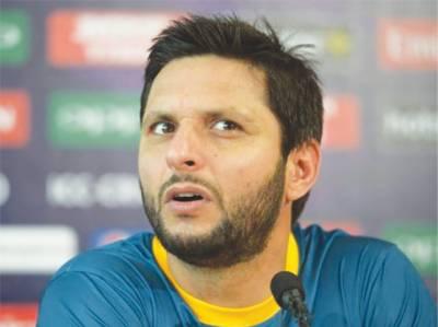 بھارتی ٹیم پاکستانی ٹیم سے آگے نکل چکی ہے ،شاہد آفریدی