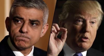 صدر ٹرمپ کی لندن کے میئر صادق خان پر پھر سے تنقید