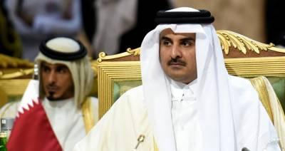 قطر ی حکمران نے قوم سے خطاب امیر کویت کے کہنے پر روکا ،ذرائع