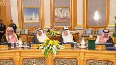 قطر سے سفارتی تعلقات منقطع کرنے کا فیصلہ خودمختاری اور بین الااقوامی قانون کے مطابق ہے ،سعودی کابینہ