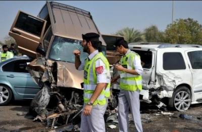 متحدہ عرب امارات میں ٹریفک حادثہ میں 2 پاکستانی جاں بحق ہو گئے