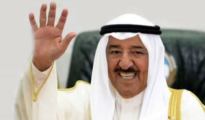 قطر معاملے پر ثالثی کاکردار اداکرنے امیر کویت دبئی پہنچ گئے