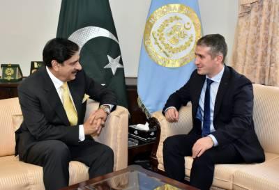 ناصر جنجوعہ سے آذربائیجان کے سفیر کی ملاقات، دوطرفہ تعلقات پر تبادلہ خیال