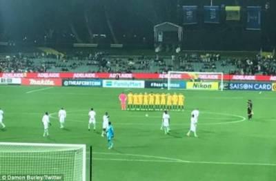 سعودی فٹبال ٹیم نے لندن حملے میں مرنے والوں کے لیے خاموشی اختیار نہ کرکے سب کو حیران کر دیا