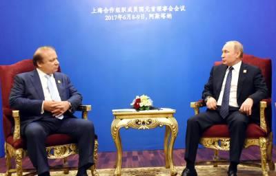 وزیراعظم سے روسی صدر کی ملاقات، دو طرفہ امور پر تبادلہ خیال