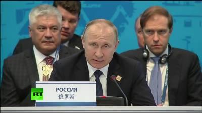 علاقائی انسداد دہشت گردی حوالے سے ایس سی او کی اہمیت میں اضافہ ہو رہا ہے، روسی صدر