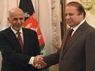 دہشت گردی افغانستان اور پاکستان کے لیے مشترکہ خطرہ ہے: نواز ،غنی ملاقات