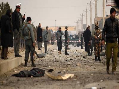 امریکی فضائی کارروائی میں 2 افغان پولیس اہلکار ہلاک،4 زخمی
