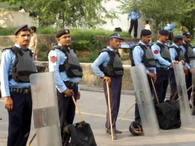 راولپنڈی پولیس کی ناجائز اسلحہ رکھنے والوں کے خلاف کارروائی، 9 ملزمان گرفتار