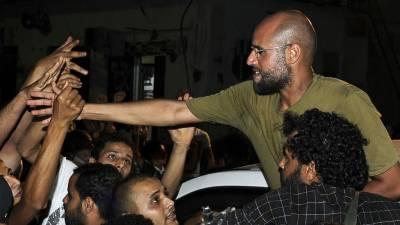 سیف الااسلام قذافی کی رہائی کی تصاویر سوشل میڈیا پر وائرل ہو گئیں