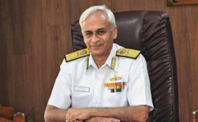 بھارتی بحریہ کے سربراہ آج سے اسرائیل کاچار دورہ کریں گے