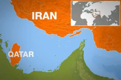 انسانی امداد،ایران کی قطر میں بڑے پیمانے پرفضائی وبحری سروسز کا آغاز