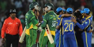 چیمپئنز ٹرافی میں پاکستان نے سری لنکا کو تین میچزمیں سے دو میں شکست دی ،ایک ہارا