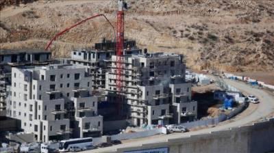 عالمی دباﺅمسترد،یہودی آباد کاری کے لیے 3066مکانوں کی تعمیر شروع