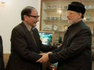 چوہدری شجاعت اور ڈاکٹر طاہر القادری کے درمیان ٹیلیفونک رابطہ