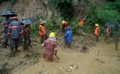 بنگلادیش میں مون سون بارشوں نے تبائی مچاد ی ، 46 افراد ہلاک