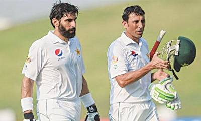 مصباح الحق اور یونس خان آئندہ ماہ ملبورن کرکٹ کلب کی ٹیم کا حصہ بنیں گے