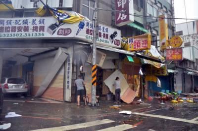 چین میں طوفان، کئی علاقوں میں نظام درہم برہم