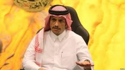 پاکستان کی مصالحتی کوششوں کا خیر مقدم کرتے ہیں ،قطری وزیر خارجہ