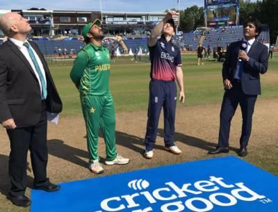 چیمپئنز ٹرافی :سیمی فائنل میں پاکستان کاانگلینڈ کے خلاف ٹاس جیت کر بیٹنگ کا فیصلہ