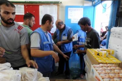 اقوام متحدہ کا ڈیڑھ لاکھ فلسطینیوں کی خوراک بند کرنے کا اعلان