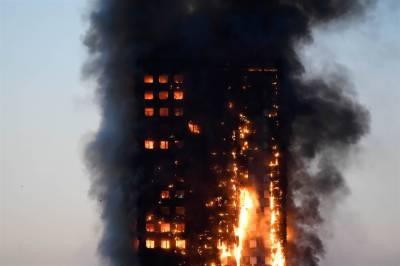 لندن ٹاور آتشزدگی میں 6 افراد ہلاک ہو گئے