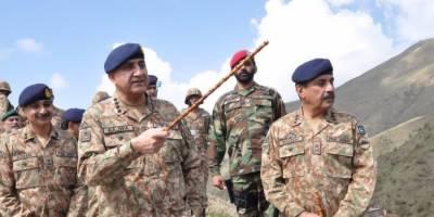 دہشتگرد پاکستان اور افغانستان کے مشترکہ دشمن ہیں،آرمی چیف جنرل قمر جاوید باجوہ