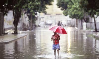 ملک کے مختلف شہروں میں موسلادھار بارش ،موسم خوشگوار ہو گیا