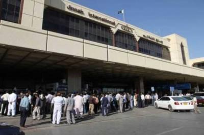 کراچی،ایئر پورٹ سے 11 کروڑ کی غیرملکی کرنسی برآمد، 2 ملزمان گرفتار