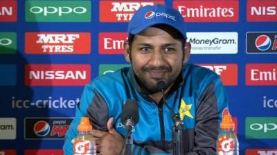 بھارت کیخلاف فائنل میں جارحانہ کرکٹ کھیلیں گے ، سرفراز احمد