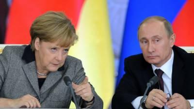 روس پر امریکی پابندیوں کیخلاف پیوٹن اور انگلیلا میرکل کی تنقید