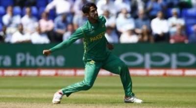 حسن علی نے وکٹ لینے کے بعد جشن منانے کے منفرد طریقے سے پردہ اٹھا دیا