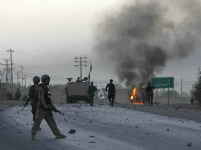 افغانستان:پولیس ہیڈ کوارٹر پر خودکش حملہ، درجنوں اہلکار ہلاک اور 5 حملہ آورہلاک