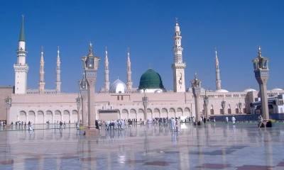 مسجد نبوی میں 13 ہزار روزہ داروں کا اعتکاف