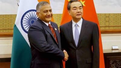 بھارت چین کے ساتھ موجود مسائل کو اچھی طرح حل کرنے کا خواہاں ہے، بھارتی وزیر