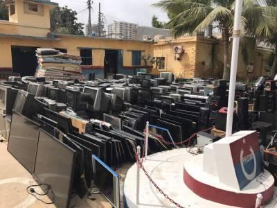 سینٹرل جیل کراچی میں سرچ آپریشن، نقدی سمیت دیگر ممنوعہ اشیاء برآمد