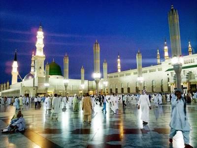 مسجد نبوی، شہری دفاع کی ہنگامی ٹیمیں زائرین کی خدمت کے لیے تیار