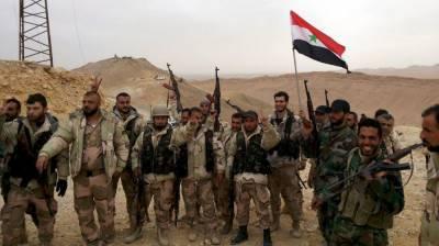 شامی فوج کے درعا میں داعش کے ٹھکانوں پر حملے