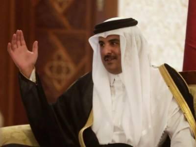 قطری امیر کا نئے سعودی ولی کو مبارک باد کا پیغام